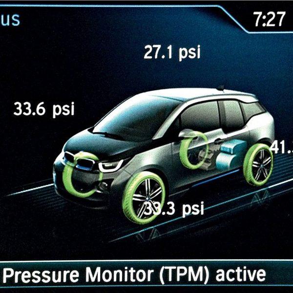 Como funciona o sensor de pressão dos pneus?